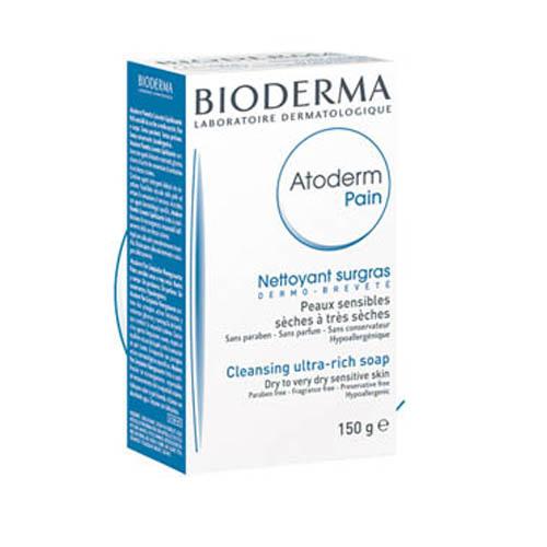 Bioderma мыло Atoderm 150 гB28092Мягко очищает, смягчает и успокаивает кожу. Оказывает антисептическое, противовоспалительное действие. Великолепная переносимость.Мягко очищает и успокаивает кожу