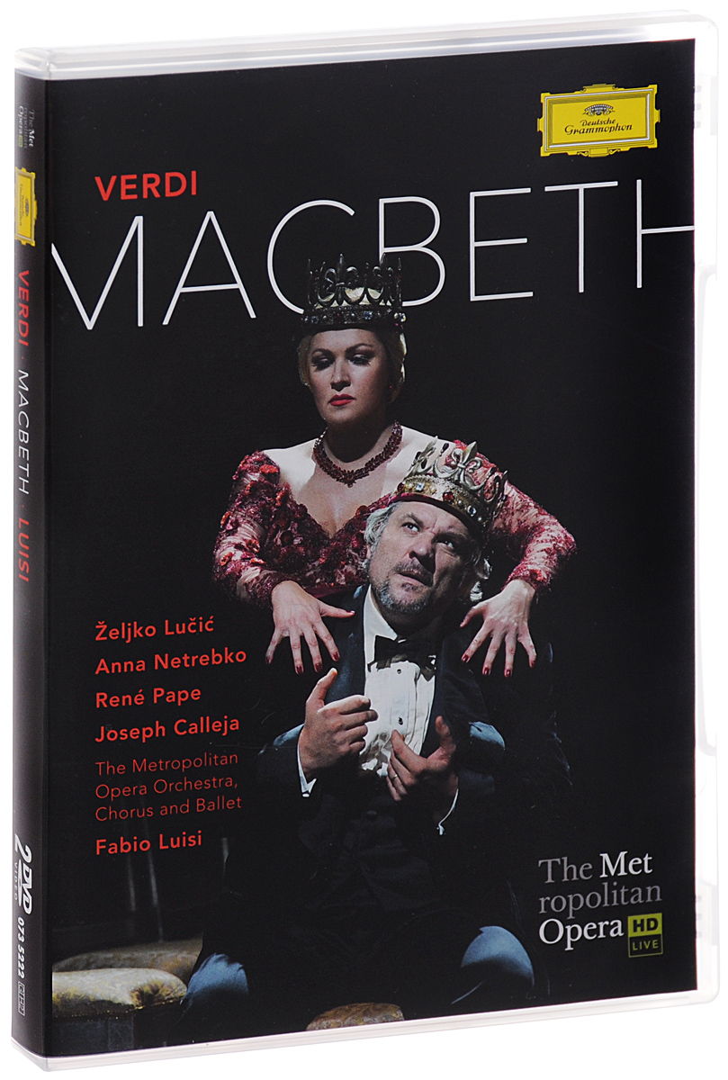 Fabio Luisi, Verdi: Macbeth (2 DVD) macbeth in venice