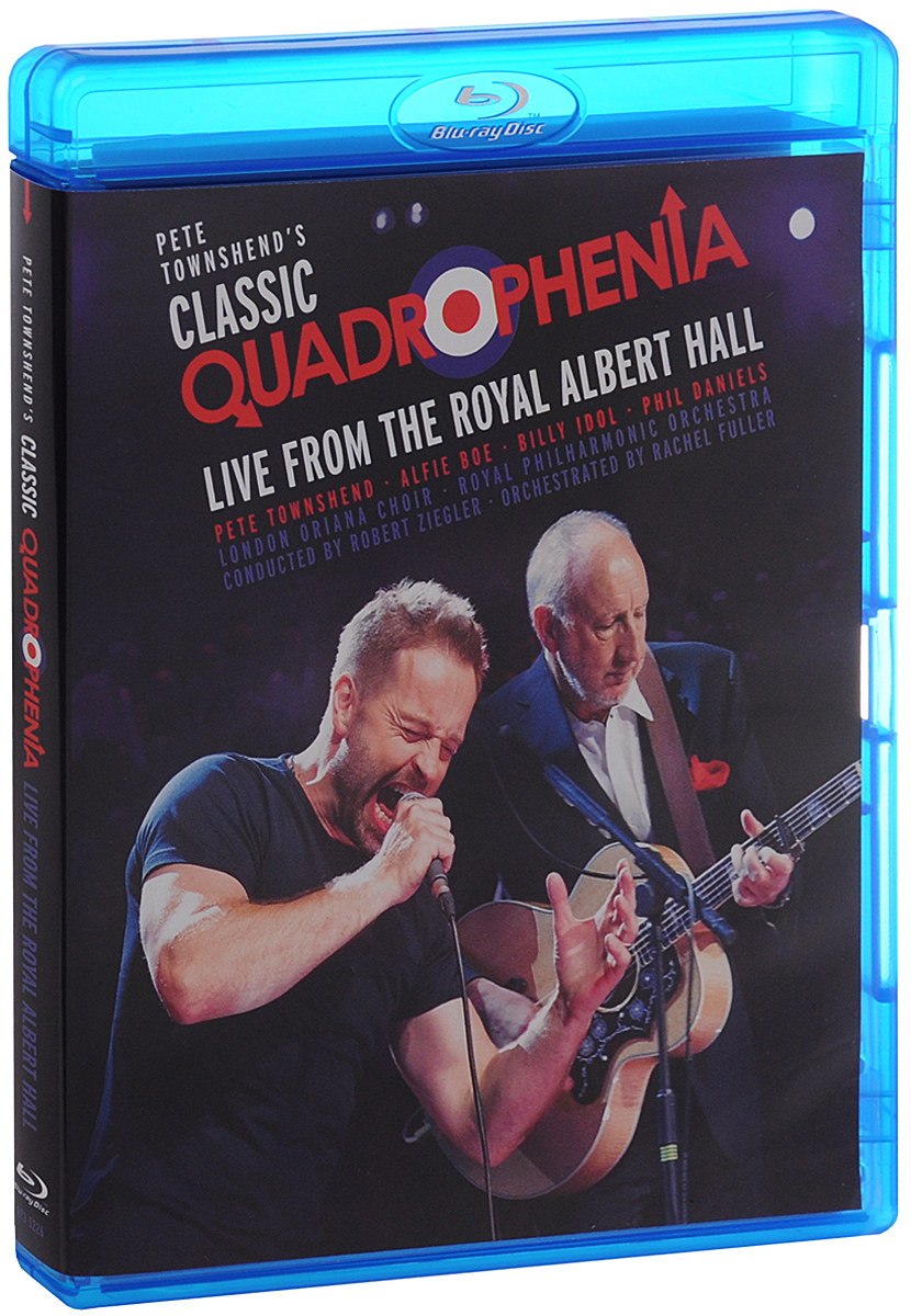 Pete Townshend's Classic Quadrophenia Live From The Royal Albert Hall (Blu-ray) francis rossi live from st luke s london blu ray