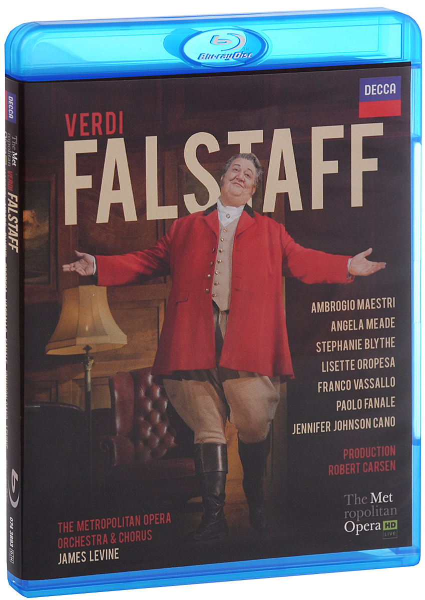 James Levine, Verdi: Falstaff (Blu-ray) verdi james levine luisa miller