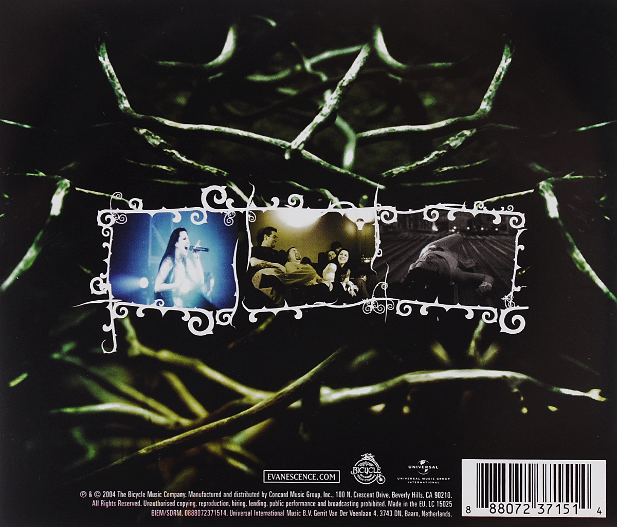 Evanescence.  Anywhere But Home ООО
