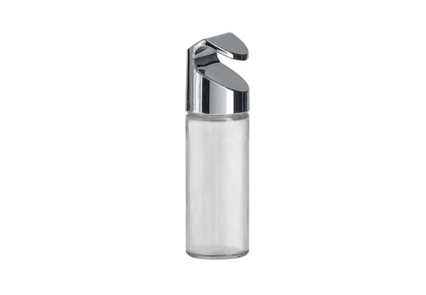 Подвесная баночка для специй Nadoba Bozena, 3 шт. 701126701126Баночки предназначены для хранения приправ и специй, оснащены регулируемыми дозаторами. Хромированный пластик, стекло, пластиковый дозатор. Размеры: 4,2х4,2х13 см. Гарантия 5 лет.
