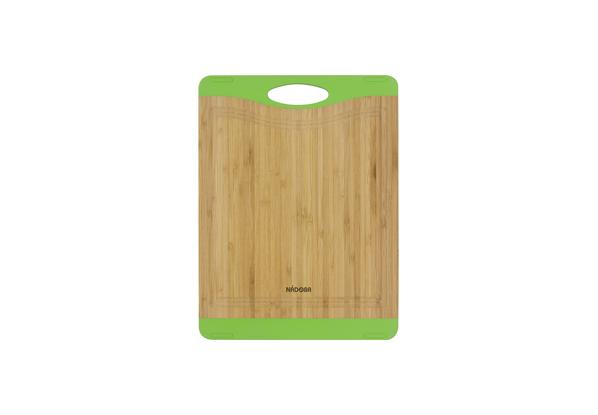 Разделочная доска из бамбука Nadoba Krasava, 27 ? 20 см. 722112722112Не скользит по столешнице. Натуральный бамбук, противоскользящие резиновые вставки. Прорезиненная ручка. Гарантия 3 года..