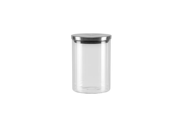 Ёмкость для хранения Nadoba Silvana, 0.7 л. 741412741412Герметичная крышка из нержавеющей стали. Прозрачное боросиликатное стекло. Гарантия 5 лет.