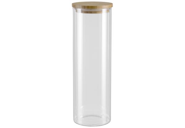 Герметичная крышка из натурального бамбука. Прозрачное боросиликатное стекло. Гарантия 5 лет.