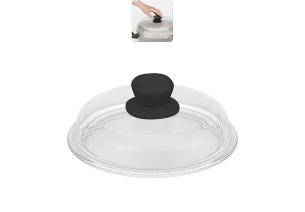 Крышка Nadoba Gela. Диаметр 20 см751115Крышка Nadoba Gela изготовлена из прочного закаленного боросиликатного стекла. Боросиликатное стекло позволяет крышкам обойтись без металлического или силиконового обода. Удобная ненагревающаяся ручка с силиконовым покрытием предотвращает выскальзывание. Крышка легко моется благодаря безободной конструкции.