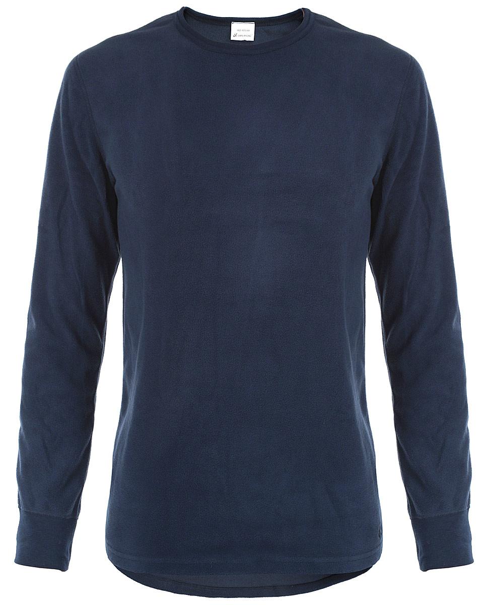Термобелье кофта мужская Laplandic, цвет: темно-синий. L21-1990-S. Размер L (52)L21-1990-SМужское термобелье Laplandic предназначено для повседневной носки в прохладную и холодную погоду. Легкая и теплая кофта изготовлена из микрофлиса, который прекрасно сохраняет тепло благодаря воздушной прослойке. Внешняя сторона обработана антипиллинговой отделкой.Плоские швы повышают прочность и создают дополнительное удобство. Кофта дополнена широкими трикотажными манжетами. Спинка модели удлинена.Рекомендуемая температуре - от -20°С до -40°С.