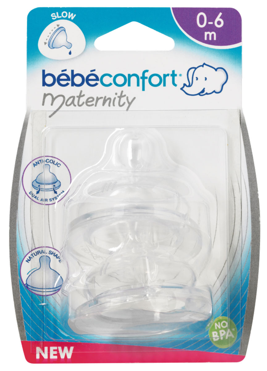 Bebe Confort Соска Maternity T0 силикон 0-6 месяцев 2 шт bebe confort соска maternity t0 силикон 0 6 месяцев 2 шт