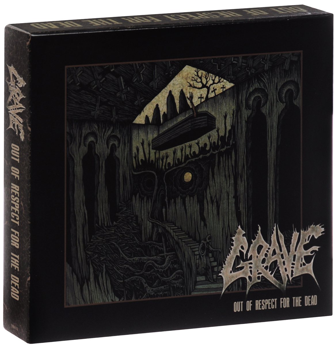 Grave Grave. Out Of Respect For The Dead. Deluxe Box Set (2 CD)