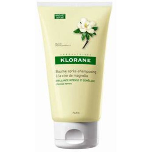 Klorane Бальзам-ополаскиватель Dull Hair с воском Магнолии 150 млC30987Воск магнолии восстанавливает и разглаживает поверхность волос, защищает от неблагоприятных воздействий окружающей среды, возвращая волосам интенсивный блеск, силу, красоту и здоровье. Доказанная эффективность: облегчает расчёсывание влажных волос 97%, мгновенное увлажнение волос 91%, блестящие волосы 94%. Мгновенно увлажняет и восстанавливает кутикулу волос, дарит блеск и сияние.