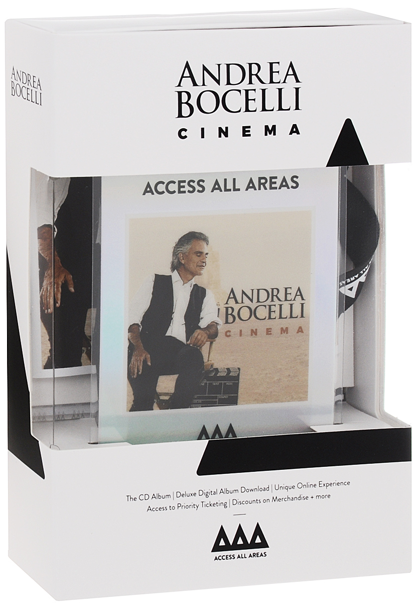 Андреа Бочелли Andrea Bocelli. Cinema. Deluxe Edition андреа бочелли andrea bocelli the complete pop albums 16 cd