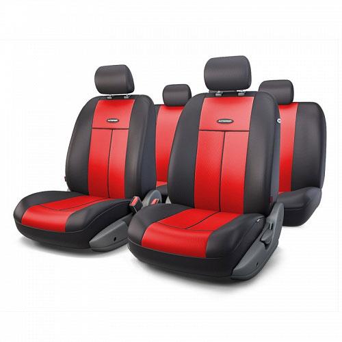 Авточехлы Autoprofi TT, цвет: черный, красный, 9 предметов. TT-902P BK/RDTT-902P BK/RDАвтомобильные чехлы Autoprofi TT изготавливаются из высококачественного полиэстера со вставками из поролона, обеспечивающего сцепление с сиденьем. Мягкие чехлы являются отличным дополнением салона любого автомобиля. Изделия придают автомобильному интерьеру современные и солидные черты.Универсальная конструкция подходит для большинства автомобильных сидений. Подходят для автомобилей с боковыми подушками безопасности (распускаемый шов).Специальные молнии, расположенные в чехлах спинки заднего ряда, позволяют использовать чехлы на автомобилях с различными пропорциями складывания заднего ряда.Комплектация: 5 подголовников, 2 чехла сидений переднего ряда, 1 спинка заднего ряда, 1 сиденье заднего ряда.