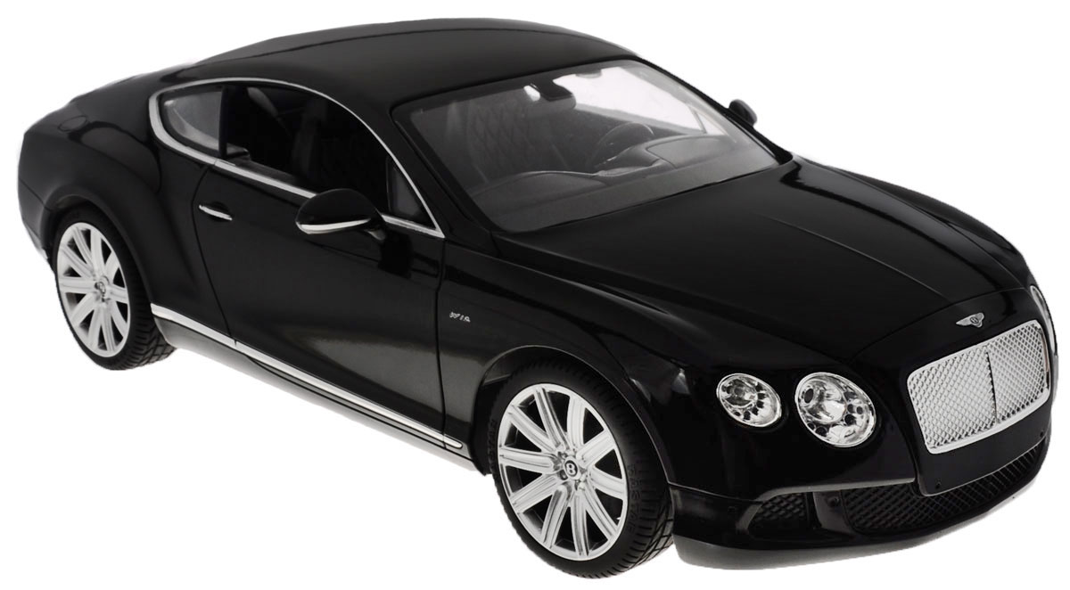 Rastar Радиоуправляемая модель Bentley Continental GT Speed цвет черный масштаб 1:14 rastar bentleycontinentalgt3 70600