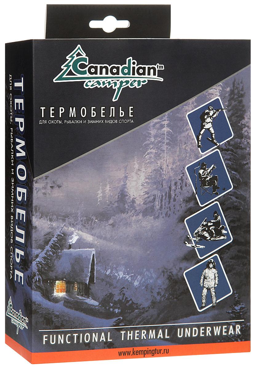 Термобелье кальсоны мужские Canadian Camper Outdoor Pants Trapper, цвет:  темно-серый меланж.  Размер XXL (58/60) Canadian Camper