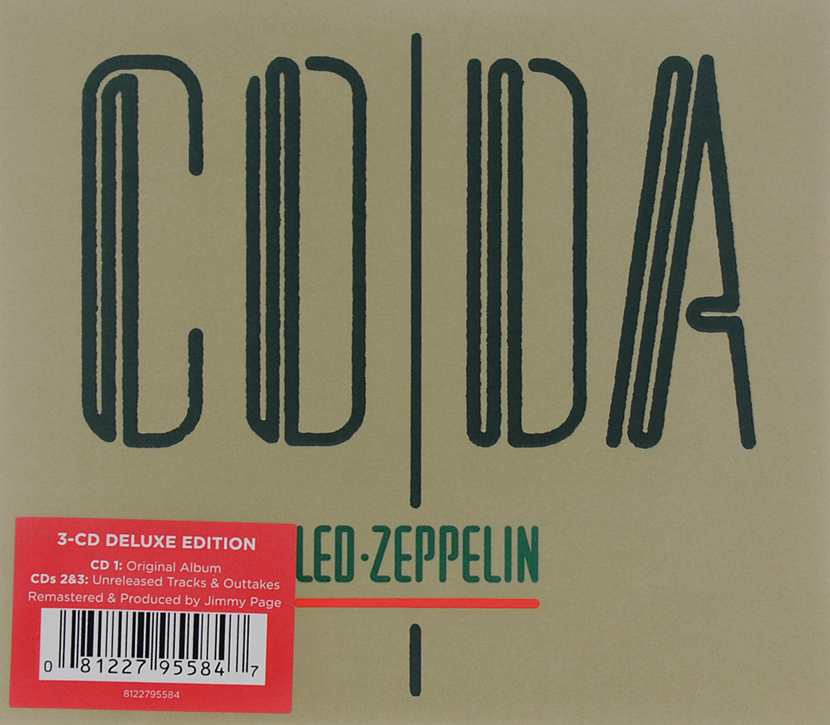 Led Zeppelin Led Zeppelin. Coda. Deluxe Edition (3 CD)