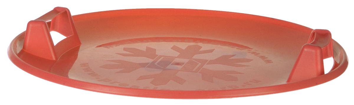 Санки-ледянки Престиж Экстрим, с пластиковыми ручками, цвет: коричневый, диаметр 58 см28263426Любимая детская зимняя забава - это кататься с горки. Яркие санки-ледянки Престиж Экстрим станет незаменимым атрибутом этой веселой детской игры. Санки-ледянки Престиж Экстрим - это специальная пластиковая тарелка, облегчающая скольжение и увеличивающая скорость движения по горке. Круглая ледянка выполнена из прочного морозоустойчивого пластика и снабжена двумя удобными ручками, чтобы катание вашего ребенка было безопасным. Отличная скорость, прочный материал и спуск, который можно закончить сидя спиной к низу горки - вот что может предоставить это изделие! Благодаря малому весу, ледянку, в отличие от обычных санок, легко нести с собой даже ребенку.