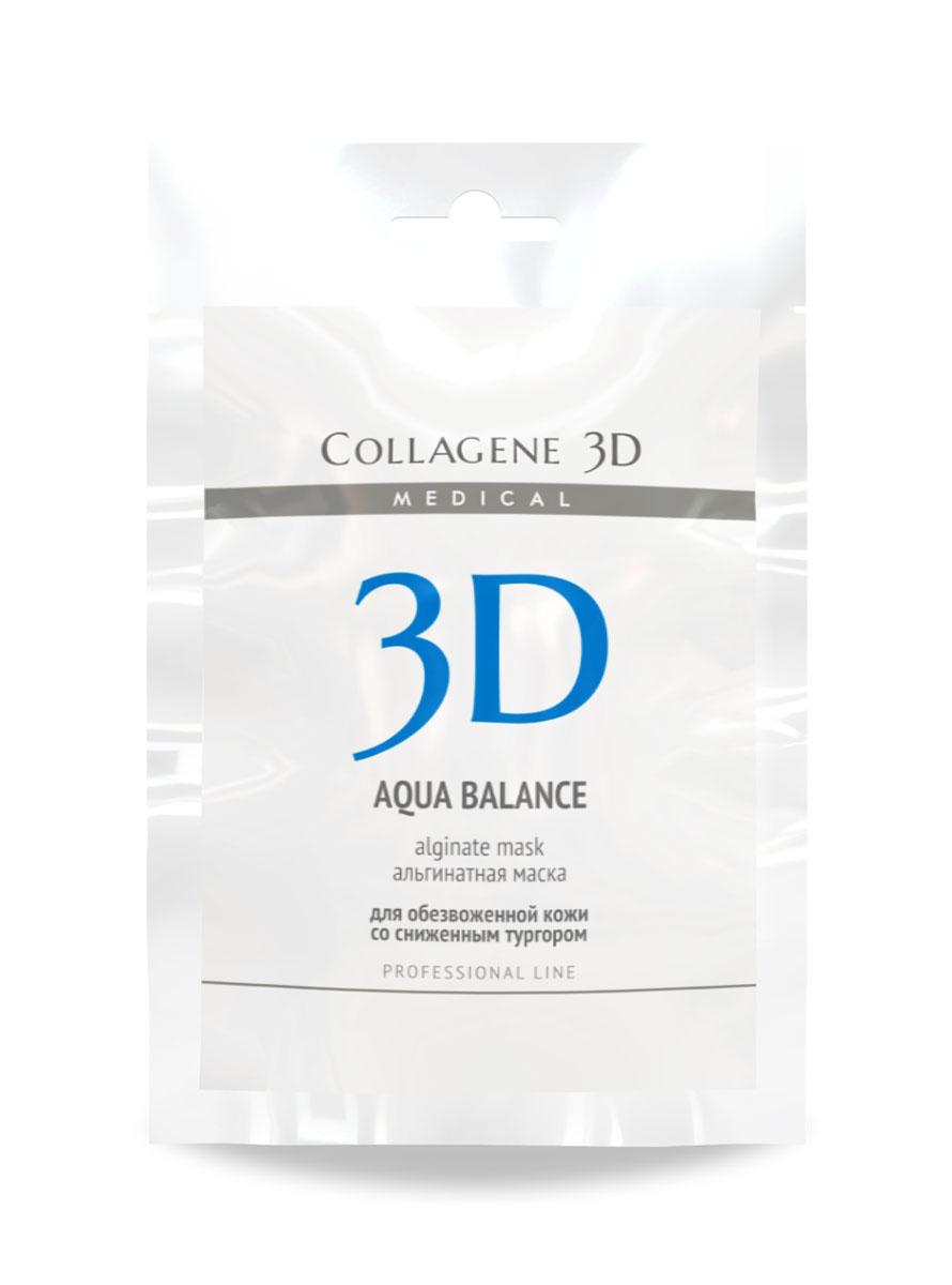 Medical Collagene 3D Альгинатная маска для лица и тела Aqua Balance, 30 г тоник для лица увлажняющий aqua balance