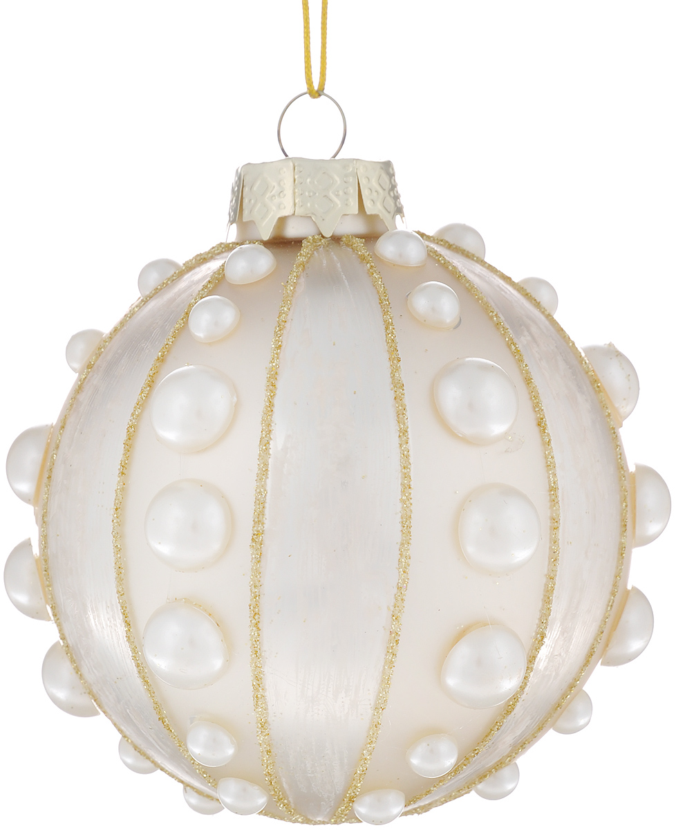 Новогоднее подвесное украшение Феникс-презент Царская корона, диаметр 8 см царская корона