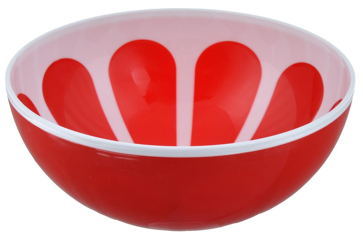 Салатник Альтернатива Грейпфрут, цвет: белый, красный, диаметр 20,5 смM3080Салатник Альтернатива Грейпфрут изготовлен из высококачественного пластика и оформлен красочным изображением.Изделие сочетает в себе изысканный дизайн с максимальной функциональностью. Он прекрасно впишется в интерьер вашей кухни и станет достойным дополнением к кухонному инвентарю. Салатник не только украсит ваш кухонный стол и подчеркнет прекрасный вкус хозяйки, но и станет отличным подарком. Салатник прекрасно подойдет для сервировки различных блюд. Яркий дизайн украсит стол и порадует вас и ваших гостей. Диаметр: 20,5 см. Высота: 8,5 см.