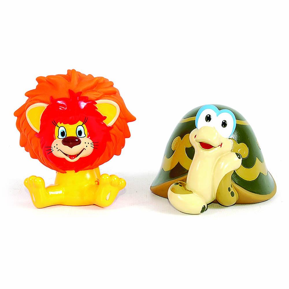 Союзмультфильм Набор игрушек для ванной Львенок и Черепаха игрушки для ванной пома набор игрушек лесной домик