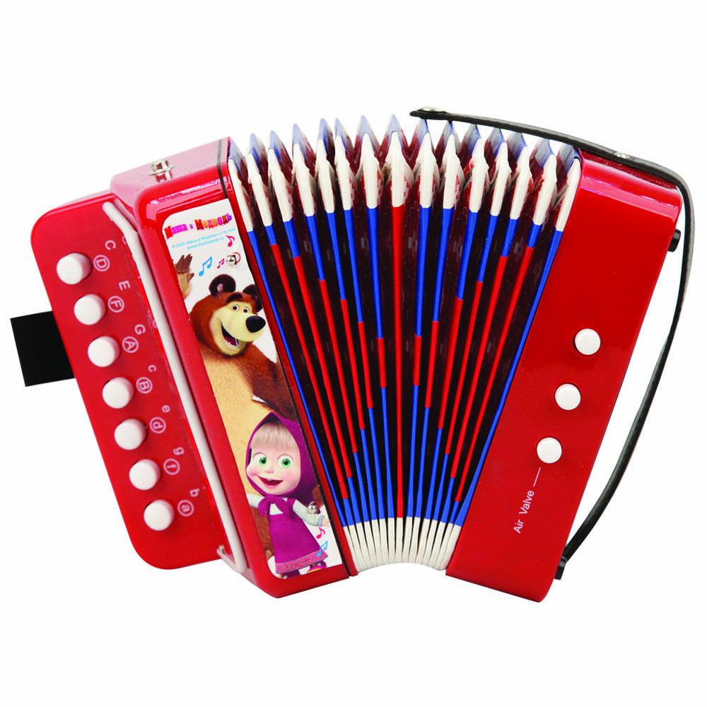 Маша и Медведь Гармошка - Музыкальные инструменты
