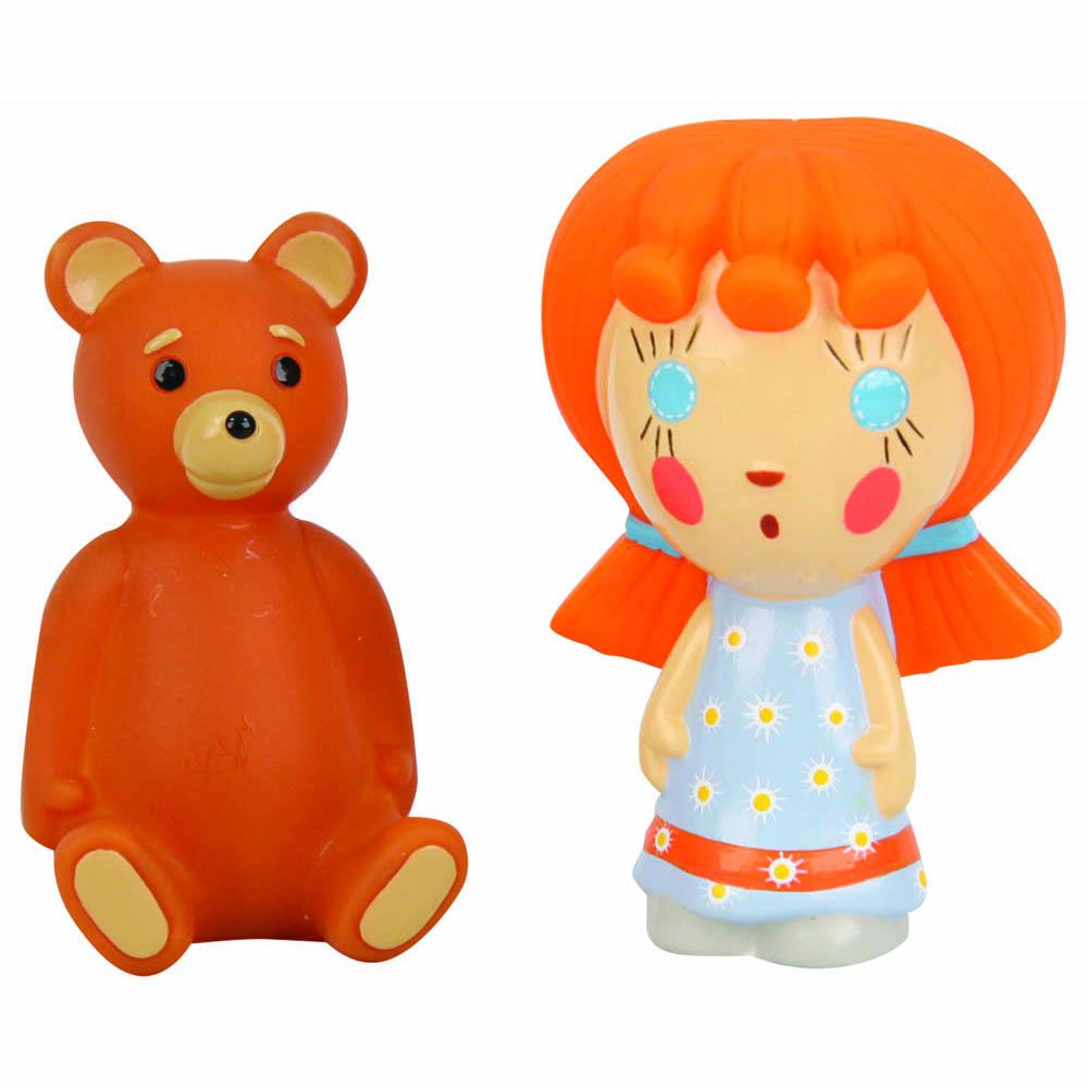 Маша и Медведь Набор игрушек для ванной Машины сказки 2 шт фигурки игрушки маша и медведь пластизоль машины игрушки