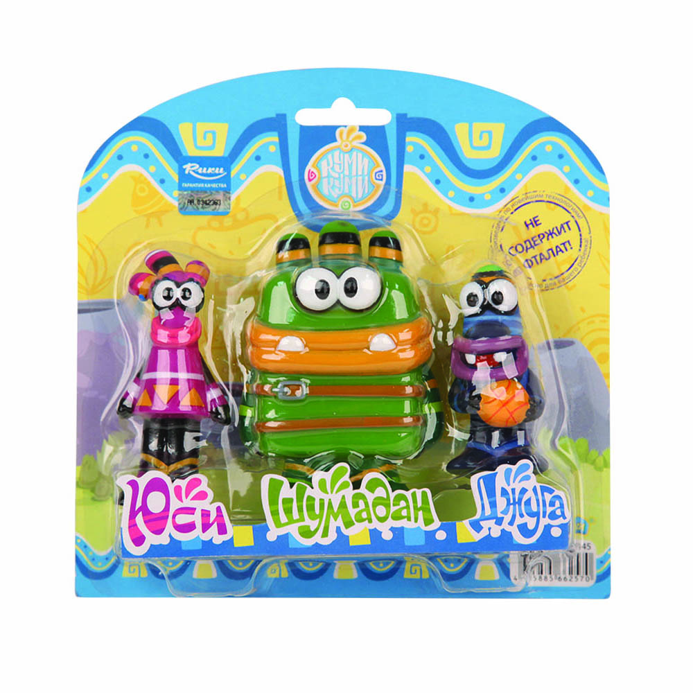 Куми-Куми Набор игрушек для ванной Юси Шумадан Джуга куми куми набор игрушек для ванной юси шумадан джуга