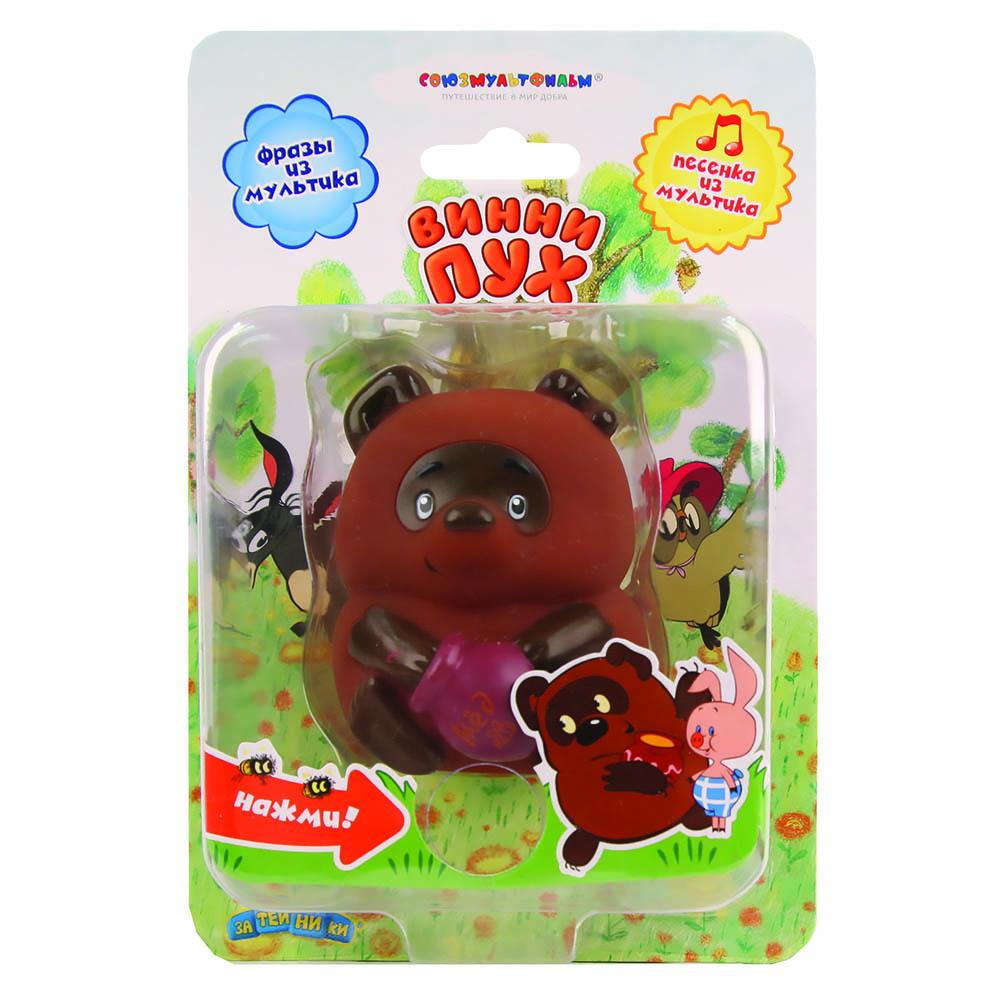 Пластизоль GT7776 Винни-Пух, со звуком, в блистере игрушки для ванной союзмультфильм игрушка винни пух блистере