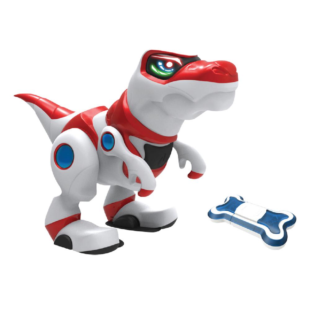 Manley Toys Интерактивная игрушка Динозавр Teksta T-Rex elc динозавр ти рекс