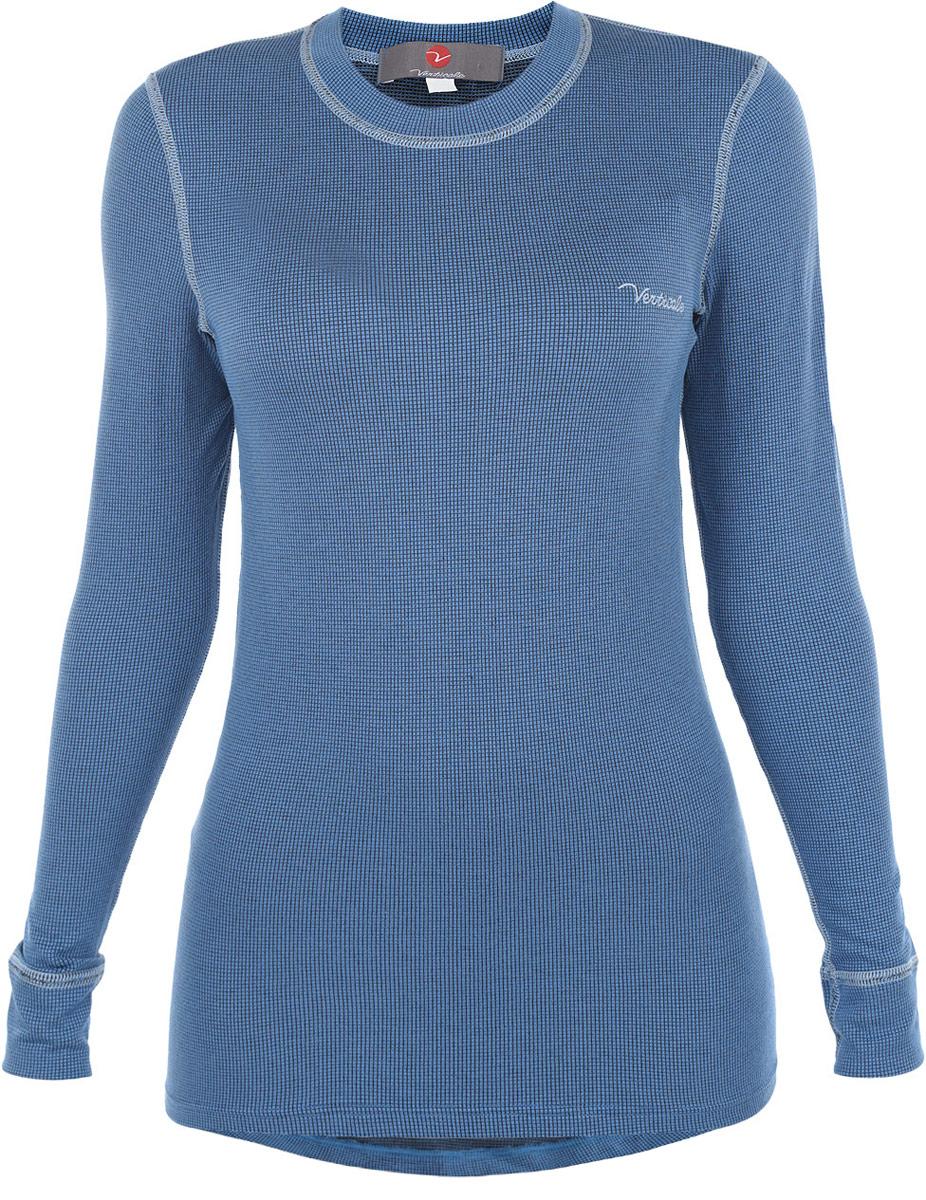 Термобелье кофта женская Verticale Sport Ruta Top, цвет: голубой. 7694A. Размер L (50/52)