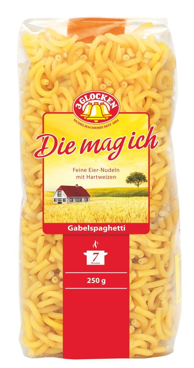 3 Glocken Gabelspaghetti мелкие рожки, 250 г