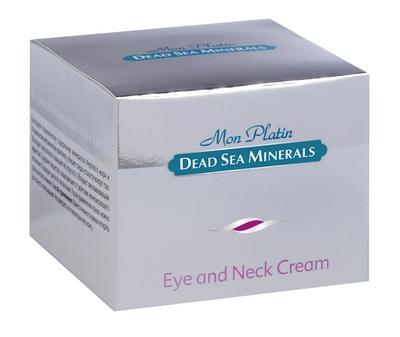 Mon Platin DSM Крем для кожи вокруг глаз и шеи 50 млDSM06Крем для кожи вокруг глаз великолепно справляется с морщинами, отеками и кругами под глазами благодаря своему составу на основе минералов Мертвого моря и витаминов. Кожа в области век и вокруг глаз – одна из наиболее нежных на лице, ее чувствительность очень высока, поэтому для ухода за ней требуются специальные средства, обладающие мощным, но деликатным действием. Крем защищает кожу вокруг глаз от внешних воздействий, питает и укрепляет ее. Для ежедневного применения.