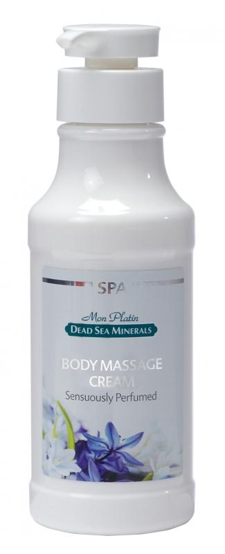 Mon Platin DSM Крем для массажа тела с чувственным ароматом 400 млDSM70Массаж в сочетании с кремом играет огромную роль в профилактике увядания кожи и помогает снять напряжение и усталость, прекрасно освежает, вызывает чувство легкости и комфорта. Фруктовые кислоты и минералы Мертвого моря эффективно увлажняют кожу, разглаживают, восстанавливают кожные покровы, улучшают тонус кожи, возвращают ей мягкость и эластичность.