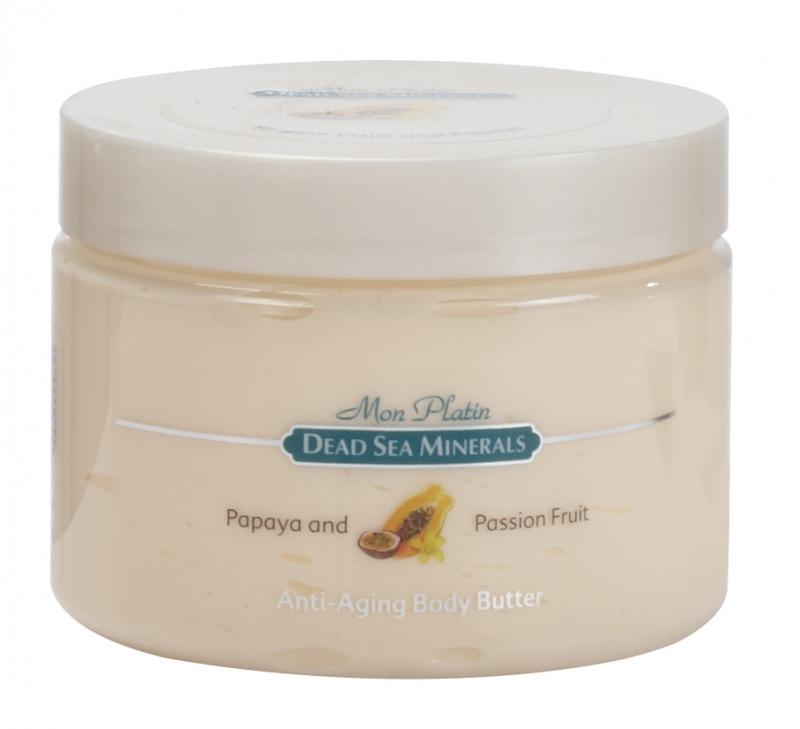 Mon Platin DSM Масло для тела для предотвращения старения (анти-эйджинг) с пассифлорой и папайей 300 мл mon platin сыворотка активный гель против морщин