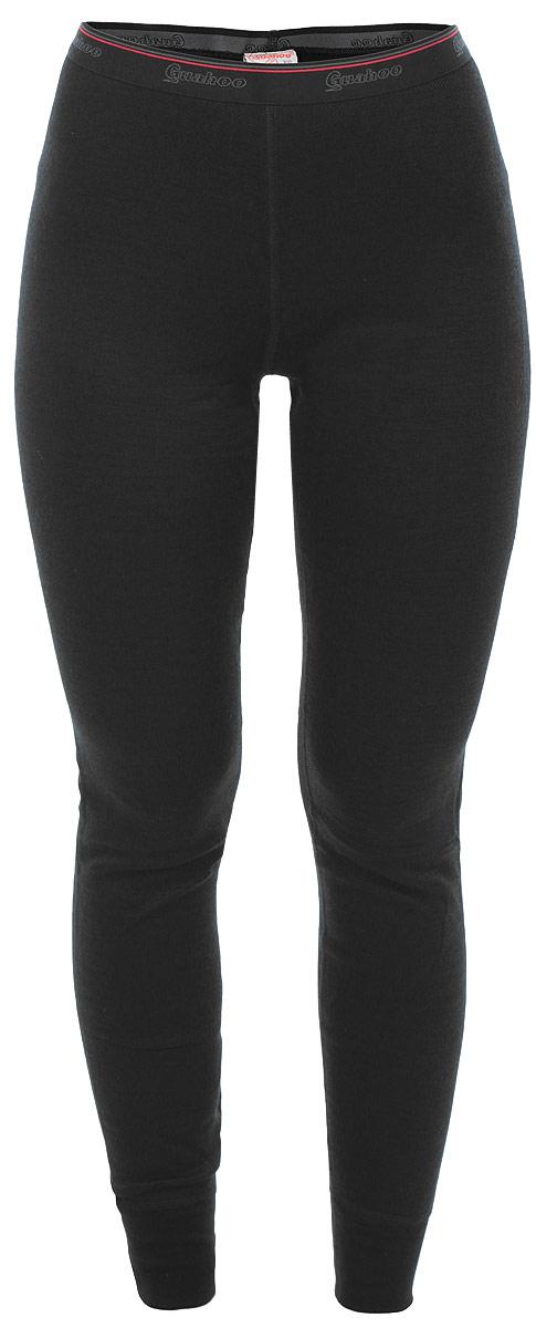 Термобелье леггинсы женские Guahoo Everyday, цвет: черный. 21-0461 P. Размер L (48)21-0461 PДвухслойная структура полотна модели Guahoo Everyday поможет вам почувствовать себя комфортно в холодное время года. Идеальное сочетание различных видов пряжи с добавлением натуральной шерсти во внешнем слое, а также специальное плетение обеспечивают эффективное сохранение тепла. Внутренний слой полотна - из мягкой акриловой пряжи, которая по своим теплосберегающим свойствам не уступает шерсти. Начес на внутренней стороне полотна лучше сохраняет тепло за счет дополнительной воздушной прослойки.Плоские швы исключают натирание. Пояс - эластичная резинка. Низ изделия оформлен эластичными манжетами.Ничто не будет стеснять ваших движений.