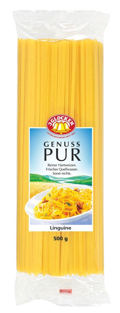 3 Glocken Linguini прямоугольные спагетти, 500 гGP 904015Макароны 3 Glocken Linguini изготовлены из муки твердых сортов, содержащей чуть меньшее количество клейковины, чем обыкновенная мука. Она хорошо поглощает воду, макароны из нее при варке увеличиваются и не развариваются. Эти изделия произведены на чистой, проточной, ключевой родниковой воде, но без добавления яиц , что особо актуально во время Великого Поста. Удивительные по своей форме макароны делают эту серию очень привлекательной. Условия хранения: в сухом прохладном месте при температуре до 30°C и относительной влажности воздуха не более 70%Лайфхаки по варке круп и пасты. Статья OZON Гид