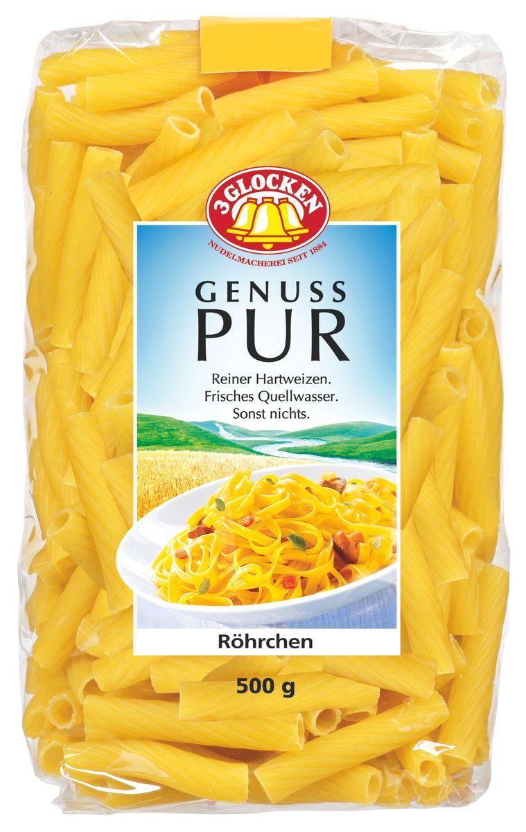3 Glocken Rohrchen короткие, 500 г pasta zara клубки тонкие тальолини макароны 500 г