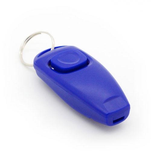 Кликер-свисток Hello Pet, цвет: синий кликер трехтоновый v i pet с браслетом цвет оранжевый желтый