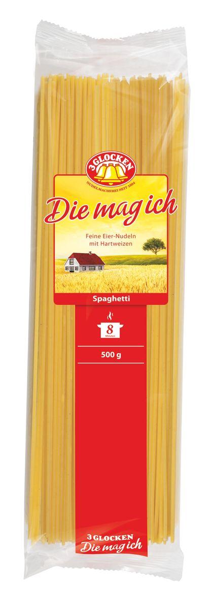 3 Glocken Die mag ich Spagetti спагетти, 500 г 3 glocken genuss pur spagetti спагетти 500 г