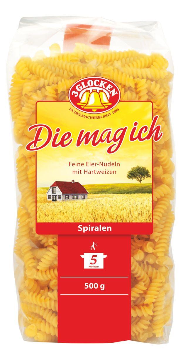 3 Glocken Die mag ich Spiralen спирали, 500 г 3 glocken genuss pur spagetti спагетти 500 г
