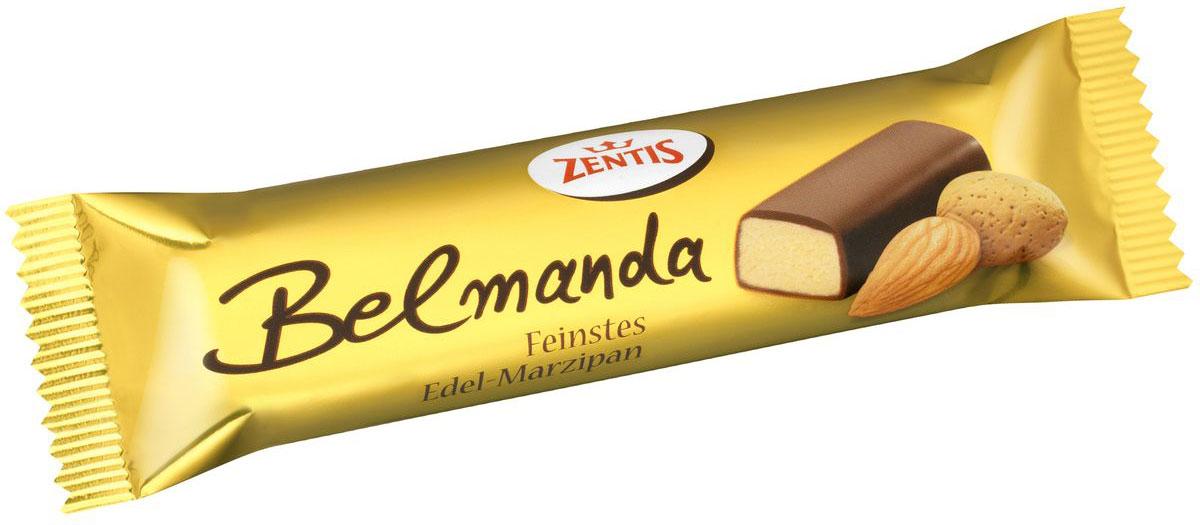Zentis Belmanda марципановый батончик, 60 г921157Zentis Belmanda - классический марципан, покрытый превосходным темным шоколадом.