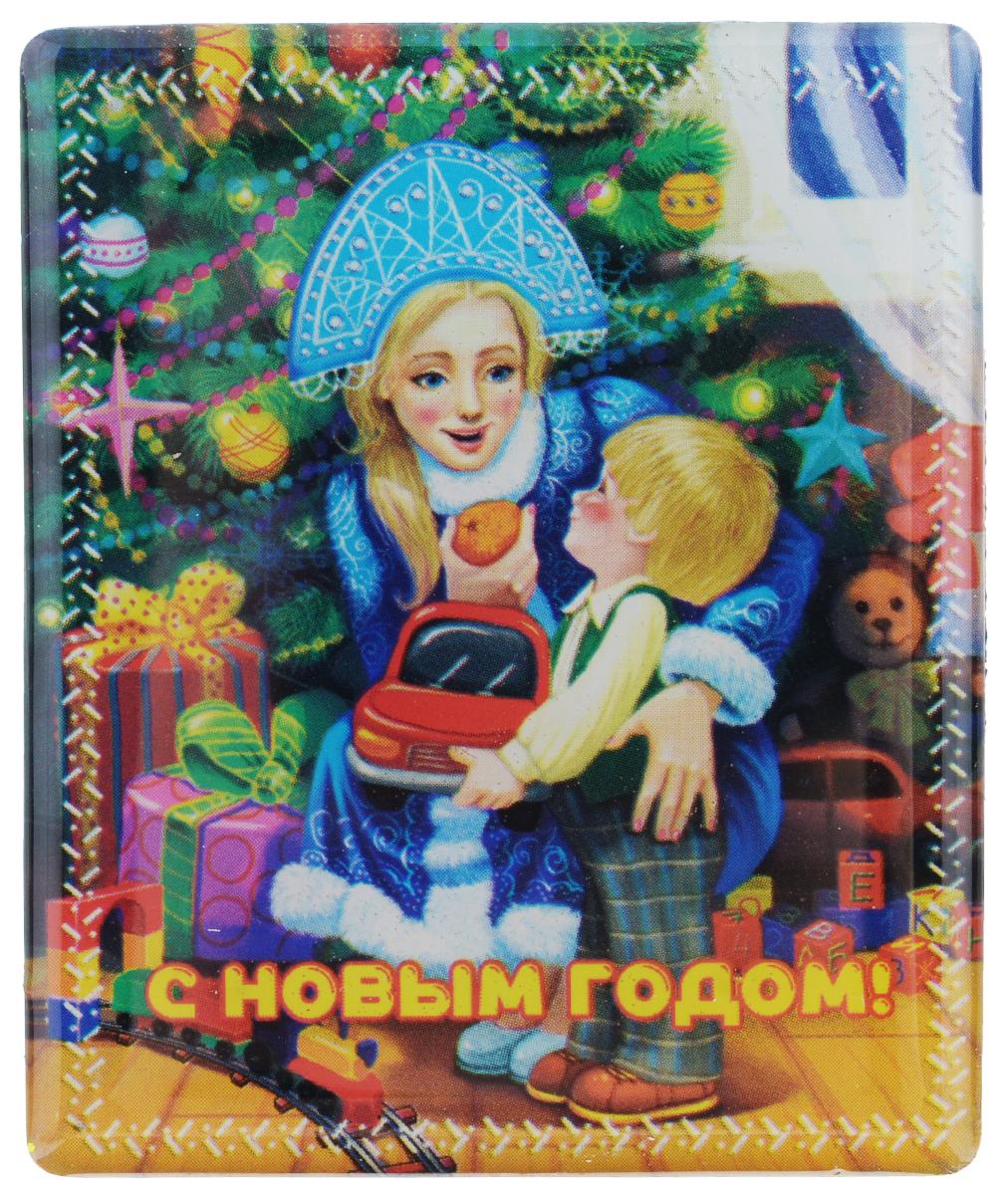 Магнит Феникс-презент Снегурочка с ребенком, 6 x 5 см феникс презент магнит хоровод