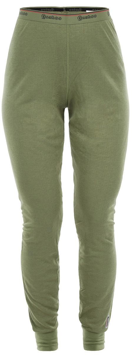 Термобелье леггинсы женские Guahoo Outdoor Light, цвет: светло-зеленый. 22-0571 Р. Размер XS (42) леггинсы guahoo леггинсы термобелье