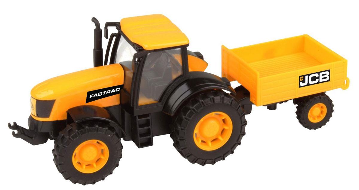 HTI Трактор с прицепом JCB плоскогубцы jcb jpl005