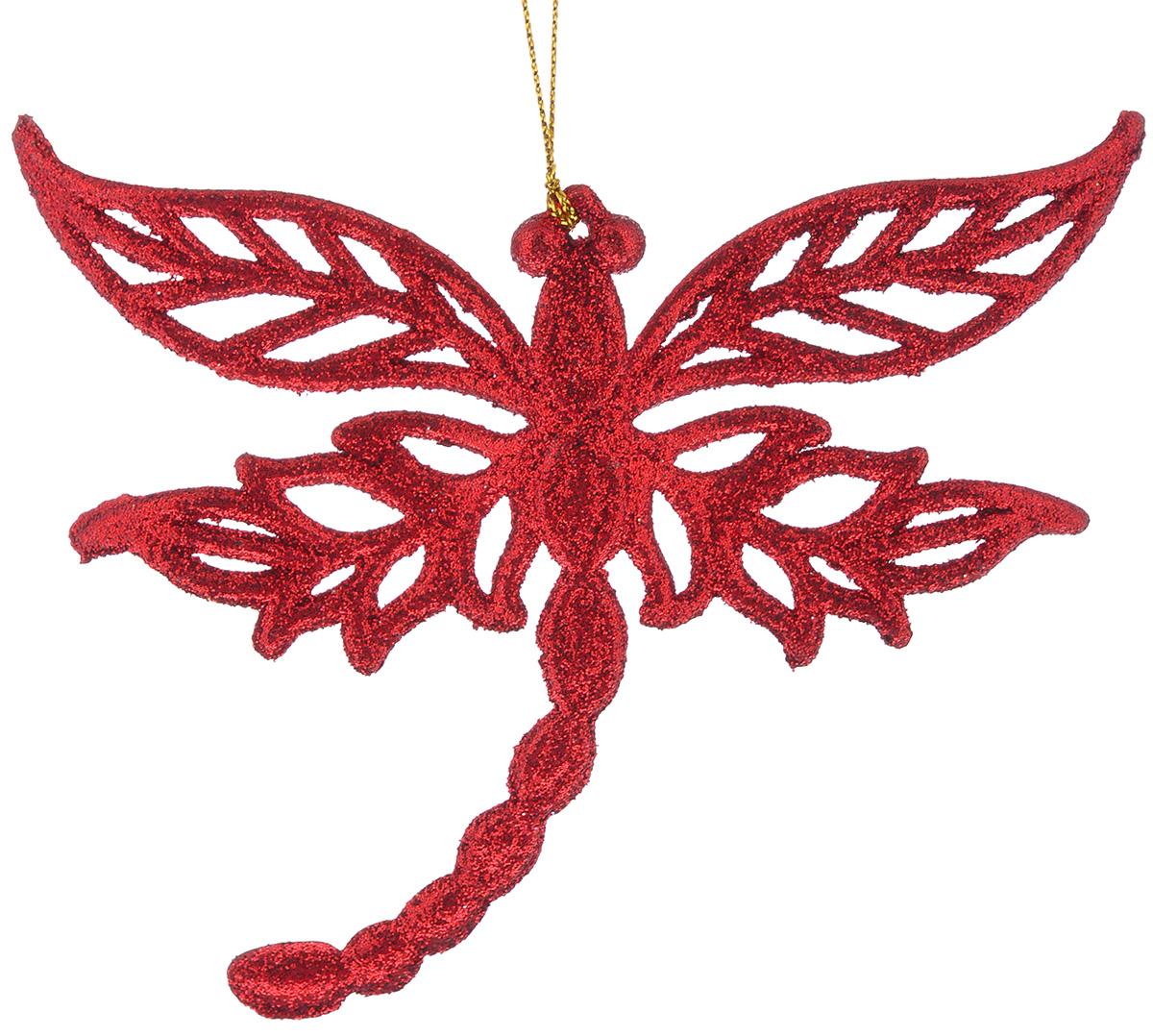 Новогоднее подвесное украшение Феникс-Презент Стрекоза35012Новогоднее подвесное украшение Феникс-Презент Стрекоза, изготовленное из высококачественного пластика, прекрасно подойдет для праздничного декора дома и новогодней ели. С помощью специальной текстильной петельки его можно повесить в любом понравившемся вам месте. Елочная игрушка - символ Нового года. Она несет в себе волшебство и красоту праздника. Создайте в своем доме атмосферу веселья и радости, украшая новогоднюю елку нарядными игрушками, которые будут из года в год накапливать теплоту воспоминаний.