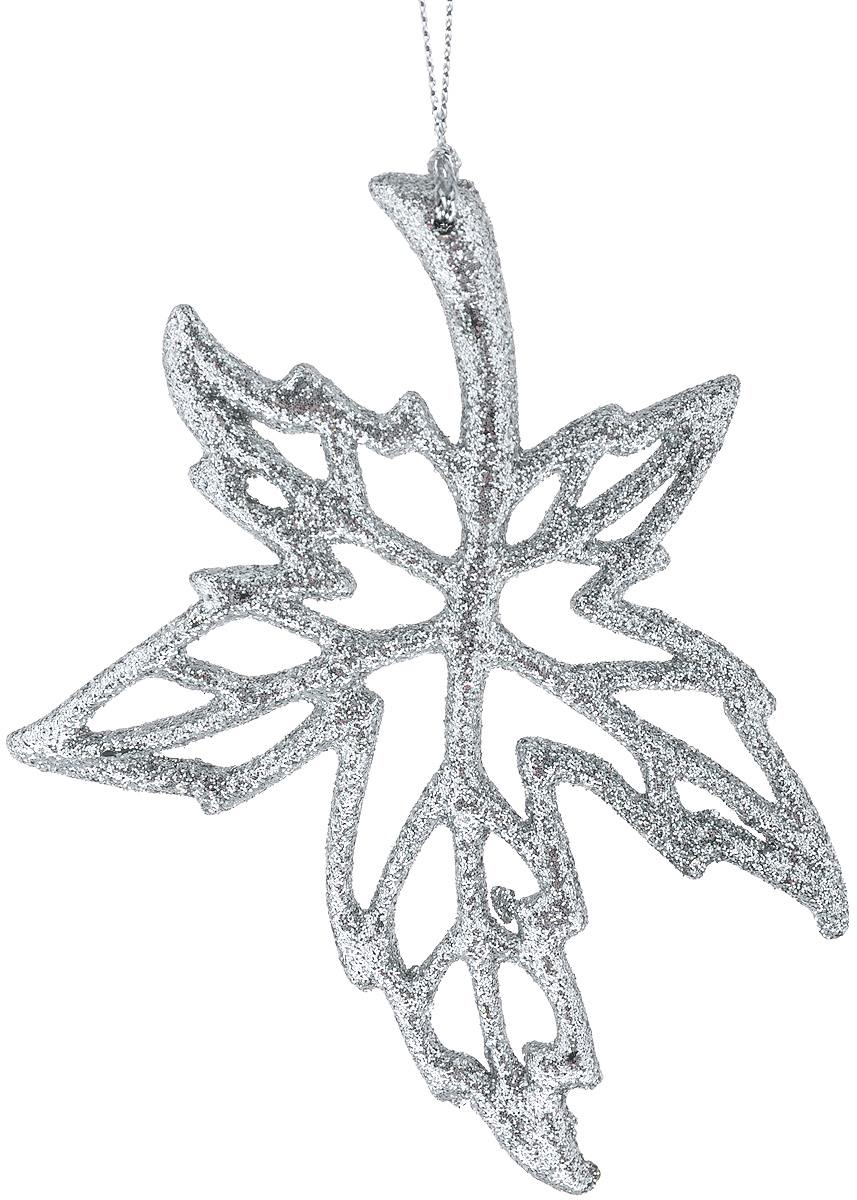 Новогоднее подвесное украшение Феникс-презент Кленовый лист38713Новогоднее украшение Феникс-презент Кленовый лист изготовлено извысококачественного пластика и декорировано блестками. Изделие прекрасноподойдет для праздничного декора дома и новогодней ели. С помощью специальной текстильной петельки его можно повесить в любом понравившемся вам месте. Елочная игрушка - символ Нового года. Она несет в себе волшебство и красотупраздника.Создайте в своем доме атмосферу веселья и радости, украшаяновогоднюю елку нарядными игрушками, которые будут из года в год накапливатьтеплоту воспоминаний.