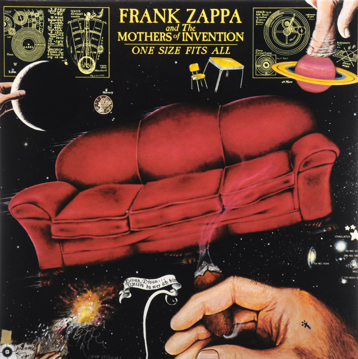 Фрэнк Заппа,The Mothers Of Invention Frank Zappa And The Mothers Of Invention. One Size Fits All (LP)