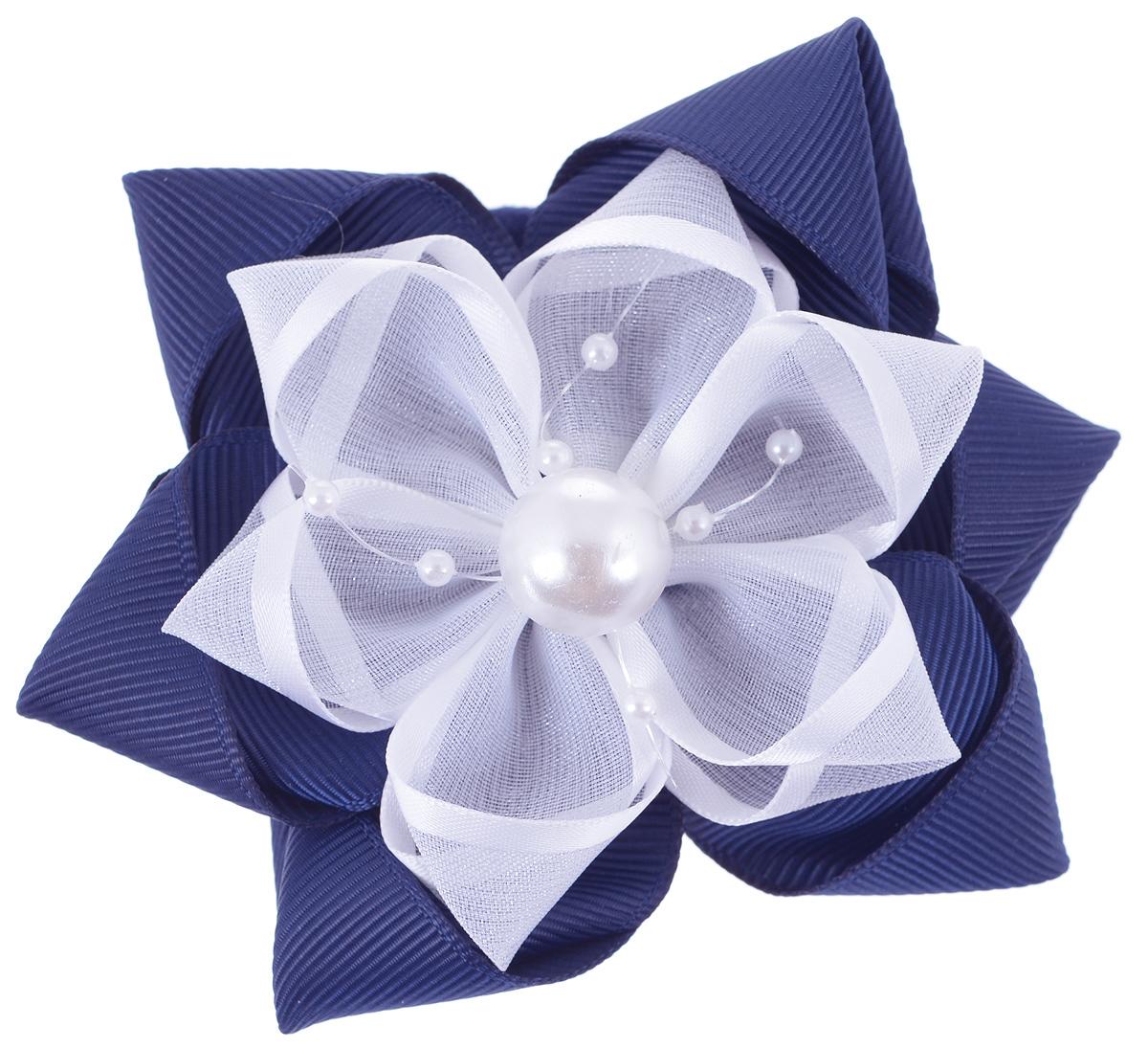 Резинка для волос Babys Joy, цвет: синий. MN 189MN 189_т.синийРезинка для волос Babys Joy изготовлена из текстиля и дополнена милым бантиком, который оформлен пластиковыми бусинами.Резинка для волос Babys Joy надежно зафиксирует волосы и подчеркнет красоту прически вашей маленькой принцессы.
