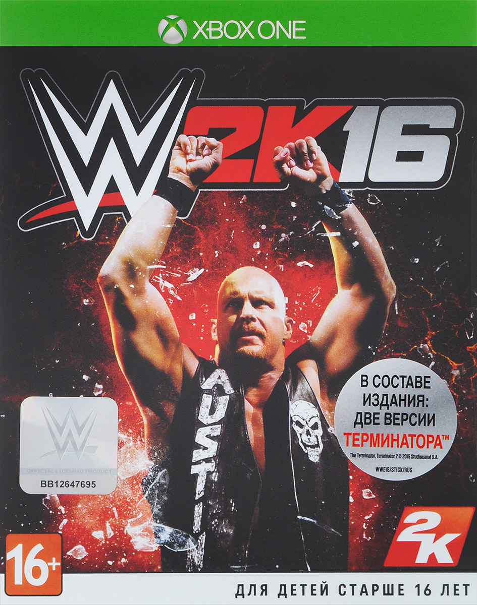 2K Sports,Visual Concepts,Yuke's Media Creations WWE 2K16 (Xbox One)