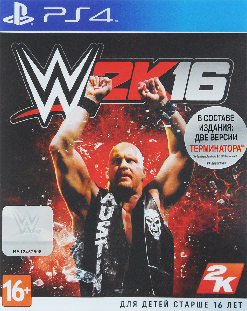 WWE 2K16 (PS4) игра для playstation 4 wwe 2k16 русская документация